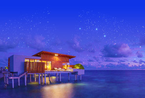 马尔代夫  水上别墅