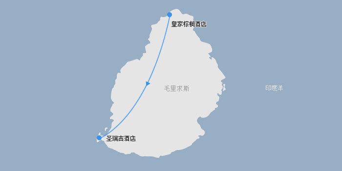 毛里求斯路线图