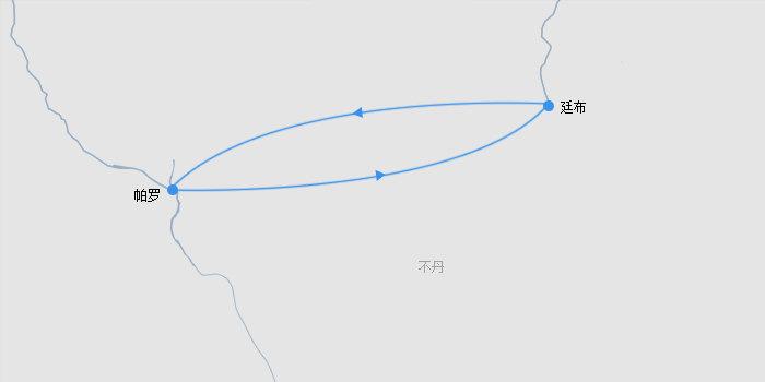 不丹7天路线图