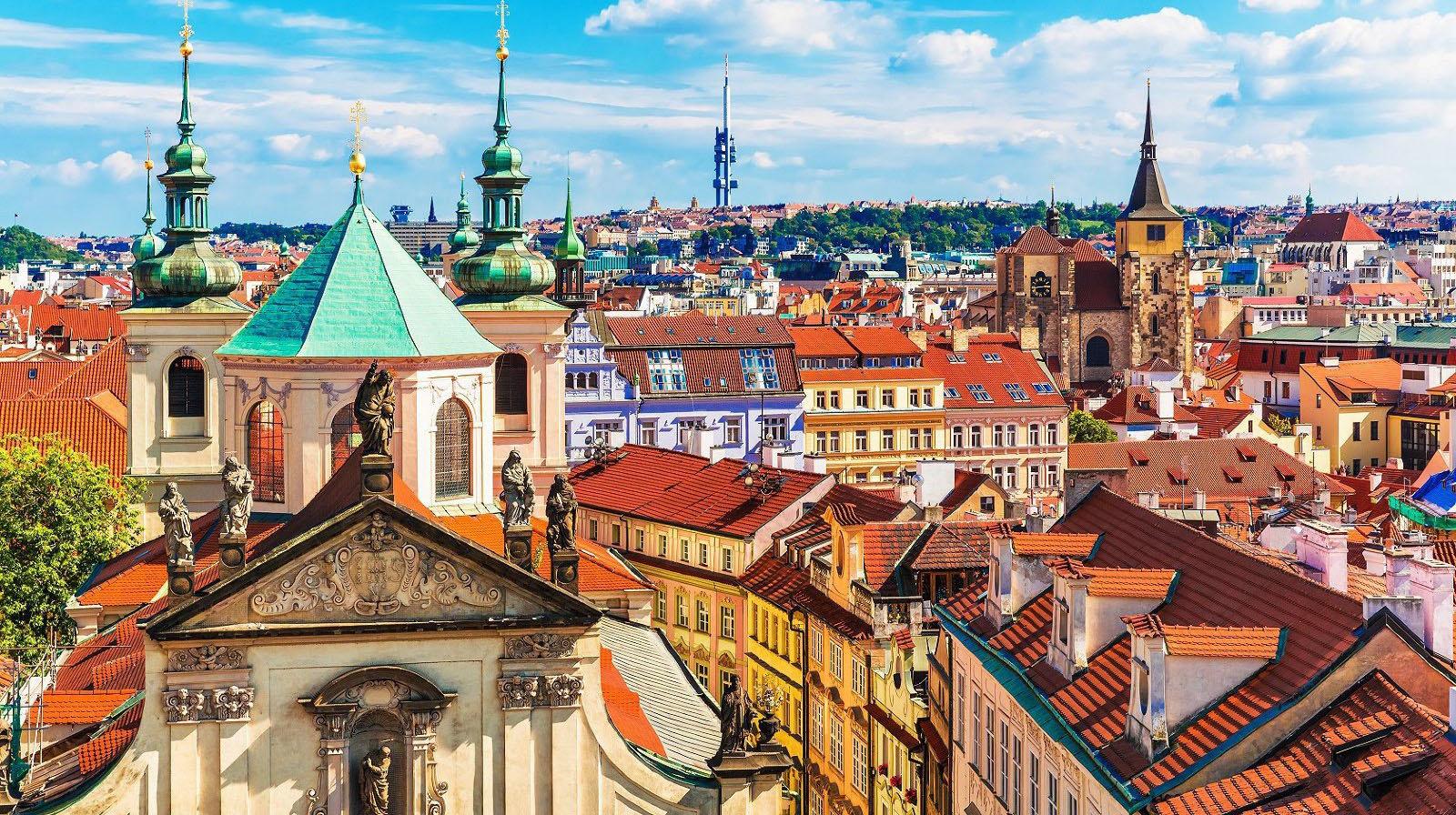 布拉格美丽的城堡区