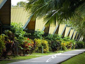 漢密爾頓島棕櫚簡易別墅酒店(Hamilton Island Palm Bungalow Hotel Whitsundays)