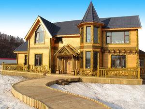 亞布力洛尼森林木屋別墅