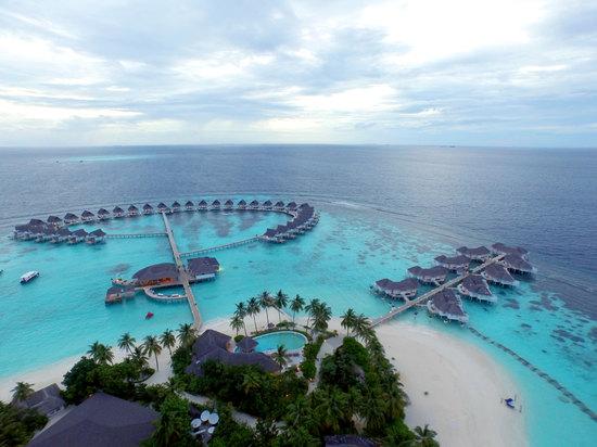 马尔代夫盛泰澜中央格兰德岛(centara grand island resort & spa