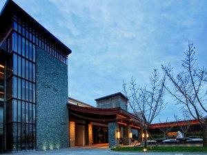 西安临潼悦椿温泉酒店1晚+双人早餐+双人日式火锅晚餐套餐+泳池+儿童乐园