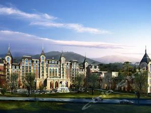 长春国信南山温泉酒店1晚 包含国信南山温泉门票+双人早餐 置身天然氧吧,体验法式浪漫,泡汤亲水