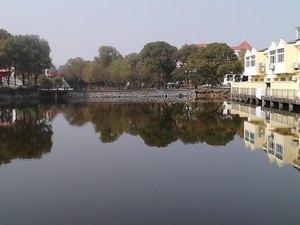 武穴武山湖度假村