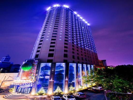 郑州蓝设施图片旅馆照片刷子\风情房间\世界图孔雀套妆图片
