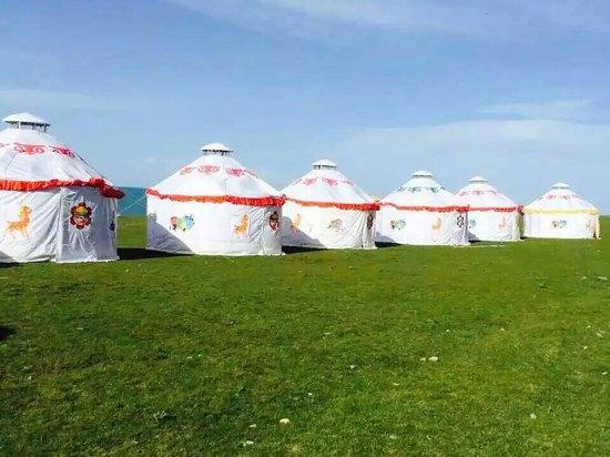 青海湖老兵自驾游蒙古包营地