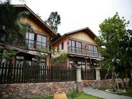 三亚亚龙湾清和园农村花园别墅200设计图平方别墅私家图片