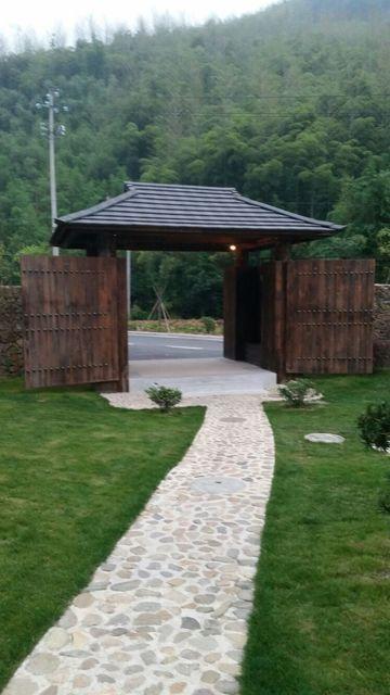 民宿主入口设计