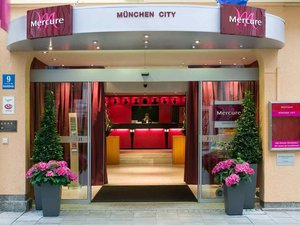 慕尼黑市中心美居酒店(Mercure Hotel Muenchen City Center)