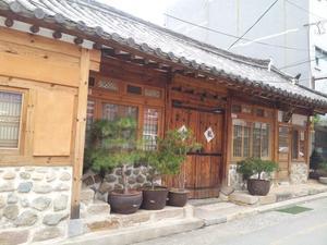 畫廊韓屋民宿(Gallery Jin Hanok Guesthouse)