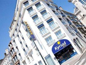 南特中央車站基里亞德酒店(Kyriad Nantes Centre Gare)