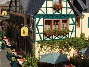 綠花環歷史葡萄酒酒店(Historisches Hotel Weinrestaurant Zum Grünen Kranz)