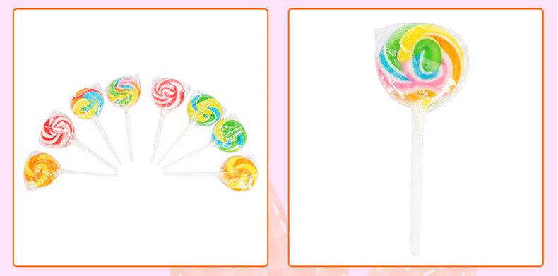 super 超级 台湾进口超级旋风糖果礼盒 超大可爱水果棒棒糖 创意休闲