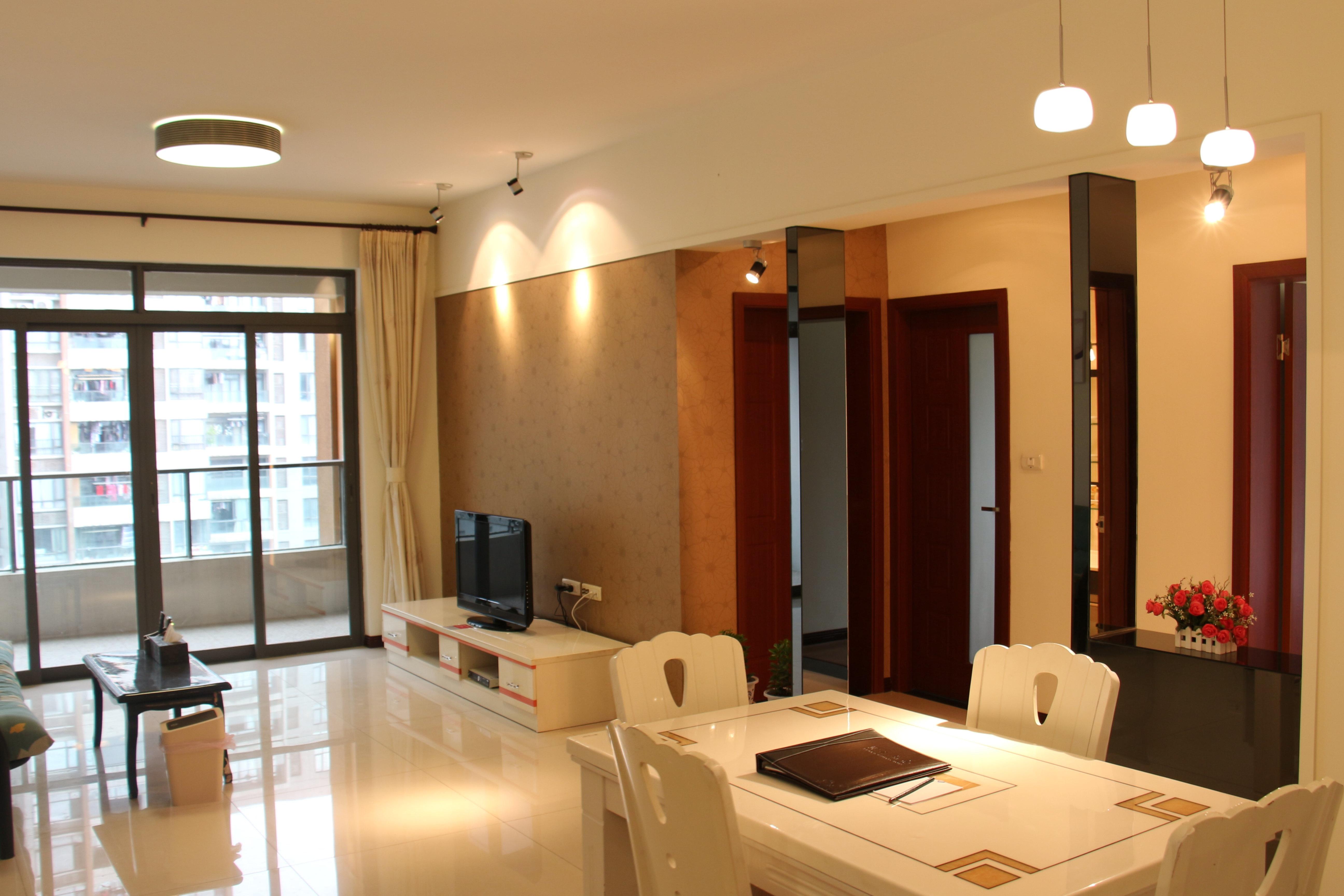 58平方两室一厅装修效果图