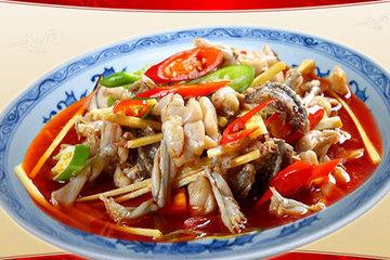 成都口碑北站、城北火车中心附近客运最好美食图片田鸡腿美食图片