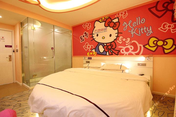 房间设计图卧室圆床图片