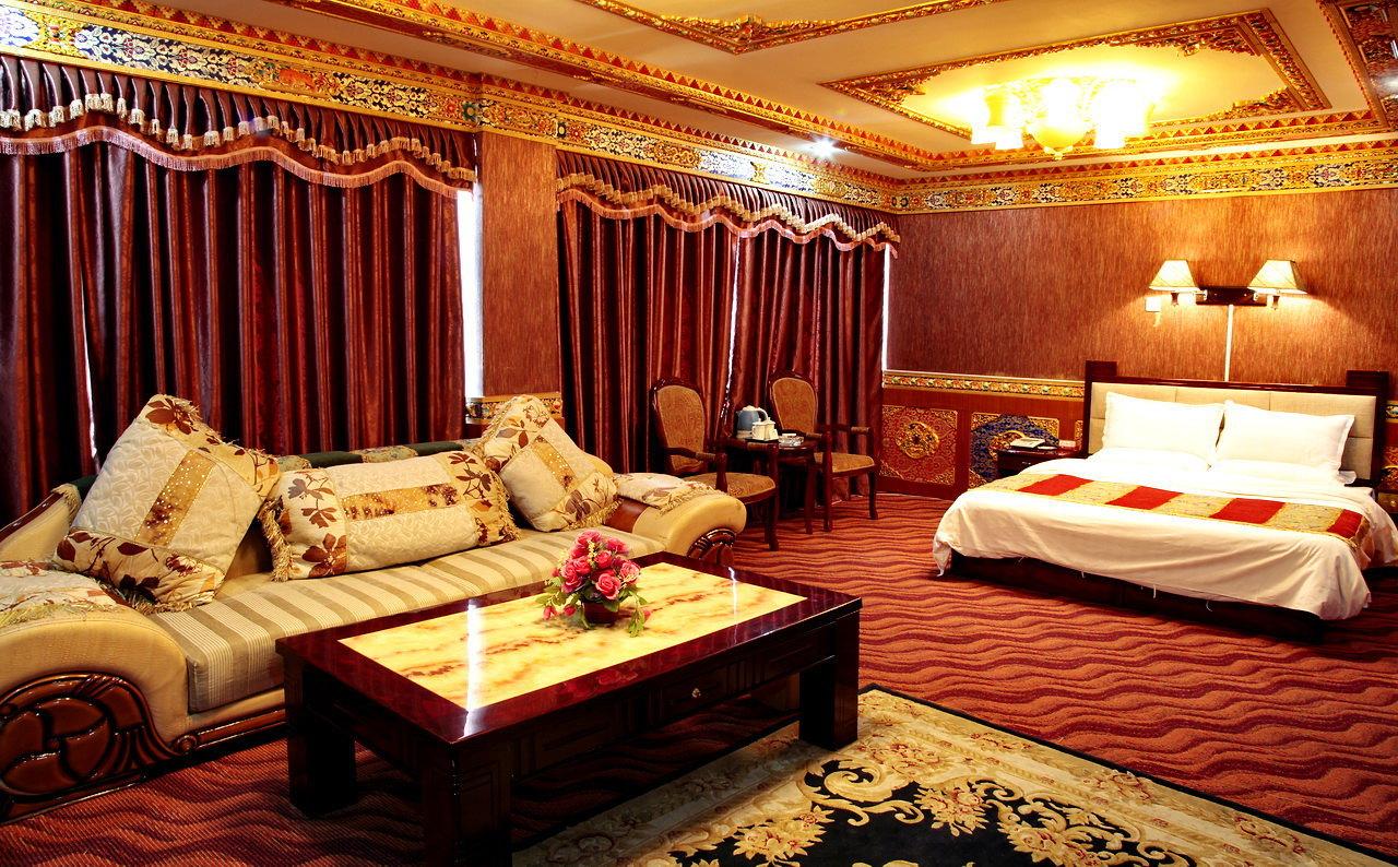 拉萨蓝宝石大酒店-藏式蜜月套间图片