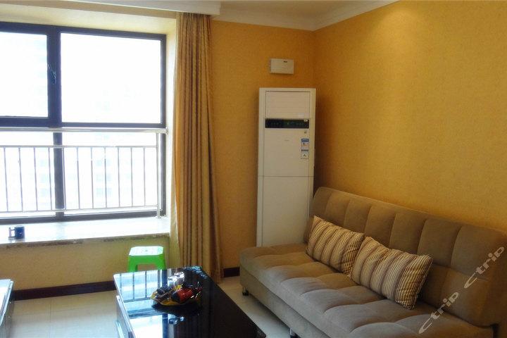 青岛海尔山海湾酒店式度假公寓-豪华大床房