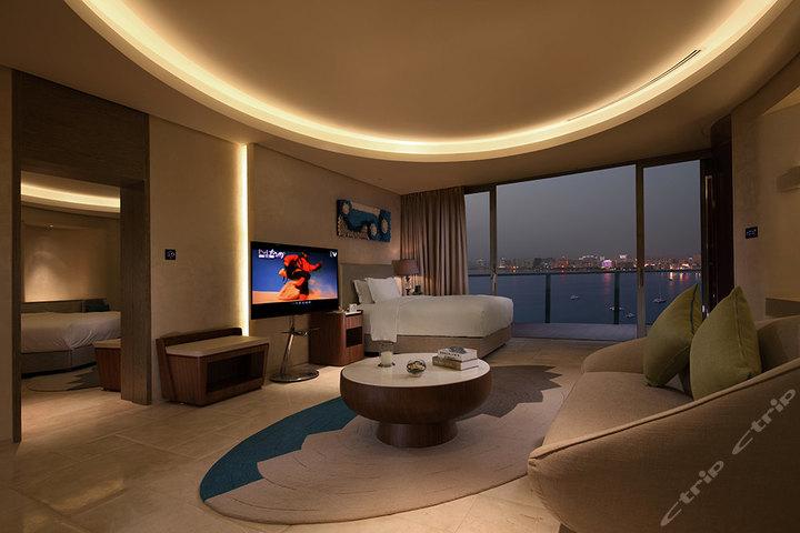 三亚凤凰岛度假酒店-全海景家庭双房套(2房)(预付)