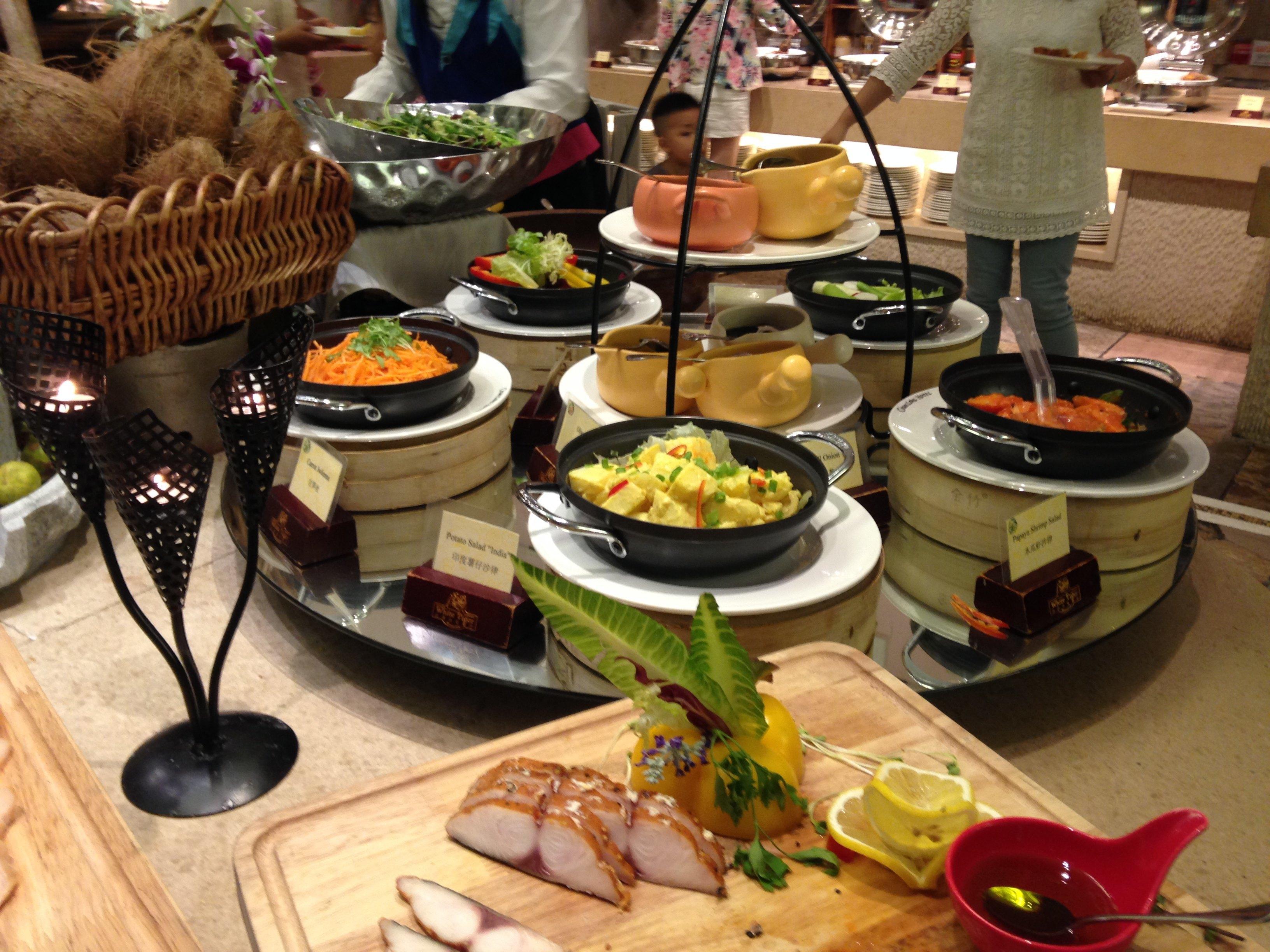 广州长隆酒店白虎自助餐厅周日至四成人晚餐