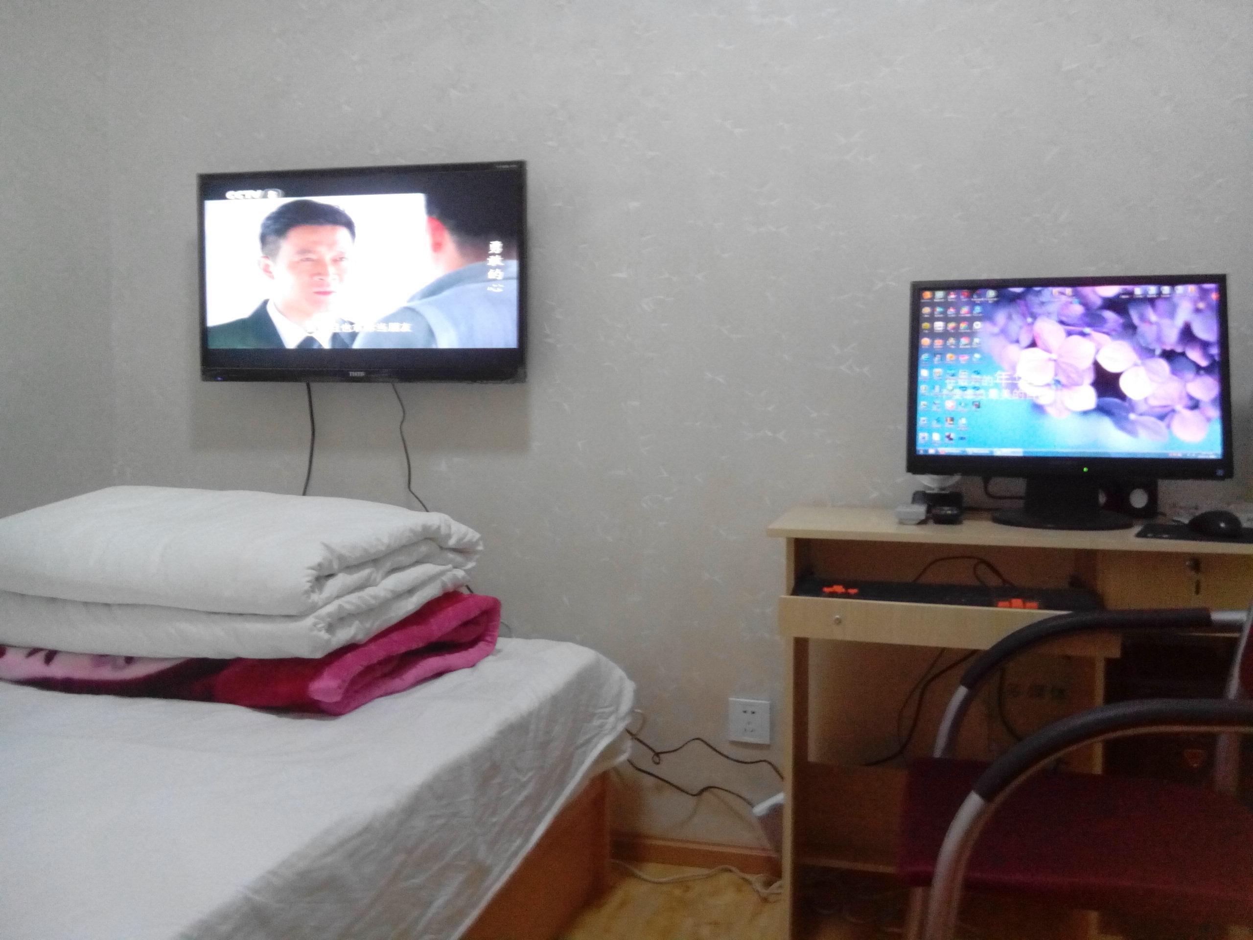 单间卧室透视图步骤