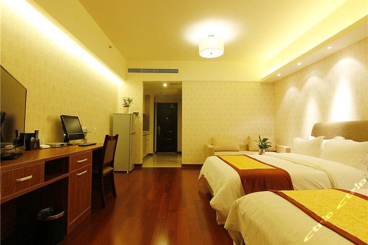 深蓝假日酒店式公寓(青岛大拇指广场店)-高级市景精品