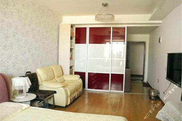 青岛鲁能领寓家庭公寓-海景大床房