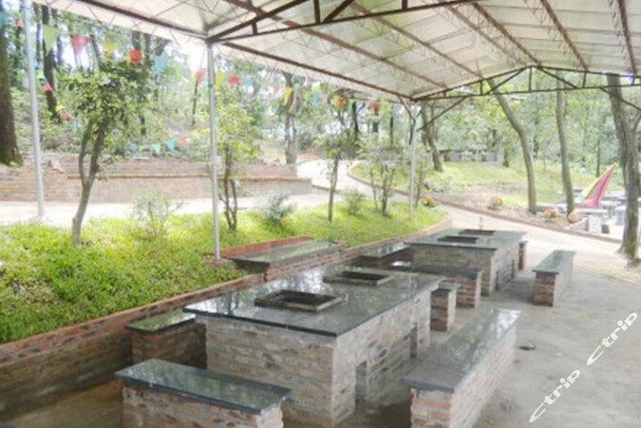 广州红果树烧烤场(270元代金券-烧烤炉三个)