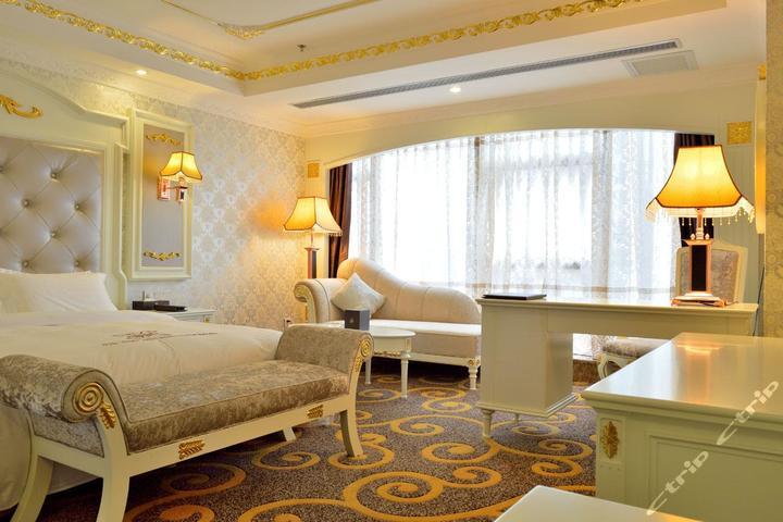 惠州金诺国际酒店-欧式豪华大床房[单早]