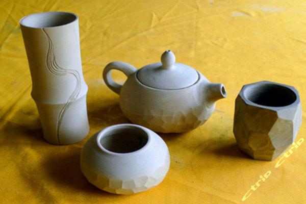简单陶泥茶壶作品步骤图片