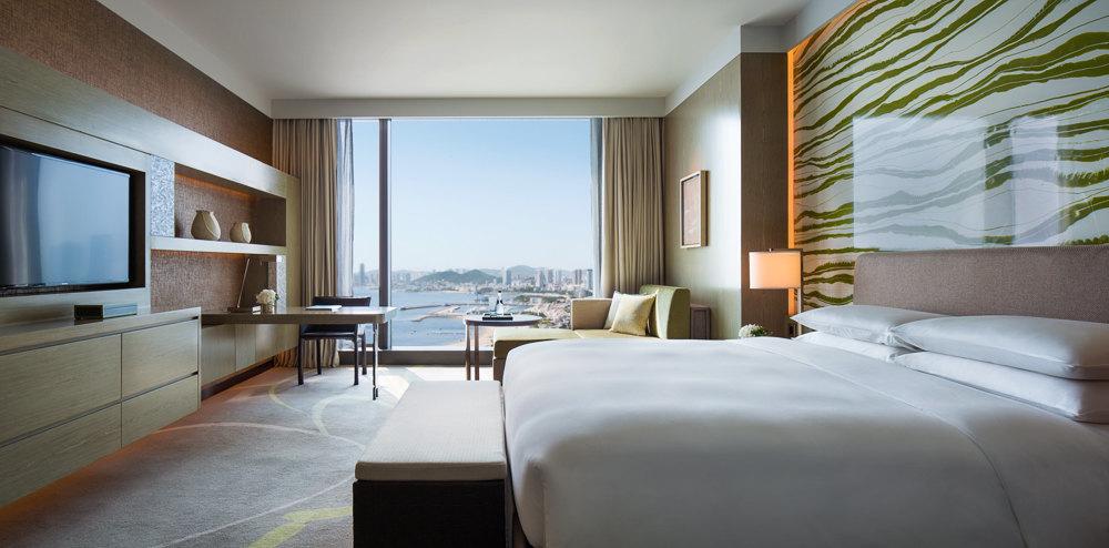背景墙 房间 家居 酒店 设计 卧室 卧室装修 现代 装修 1000_494