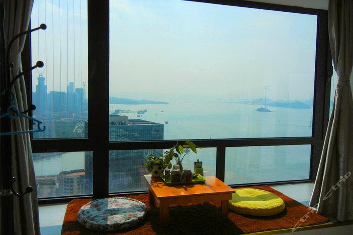 厦门小时代海景公寓-超级海景大床房