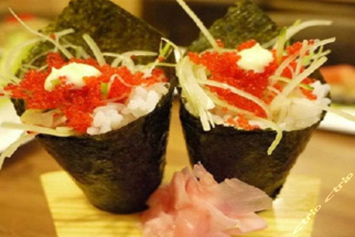 手卷寿司步骤图
