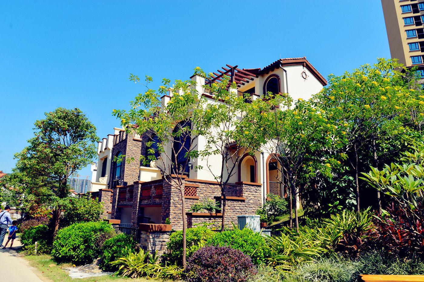 惠州南昆山妙途温泉度假别墅-欧式风格5房别墅+温泉