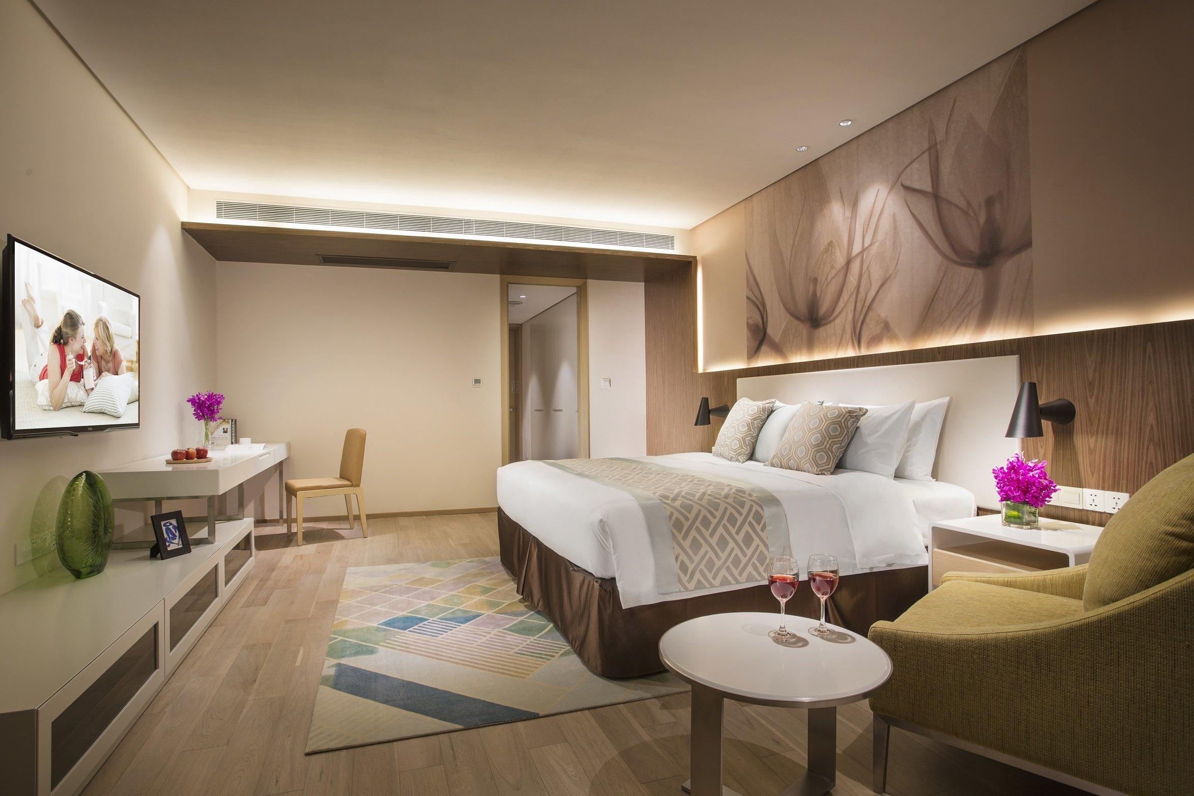 杭州馨乐庭银泰城-豪华一房式公寓