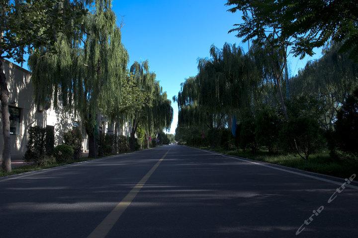 北京通州运河苑温泉度假村-a座标间+温泉票+动物园