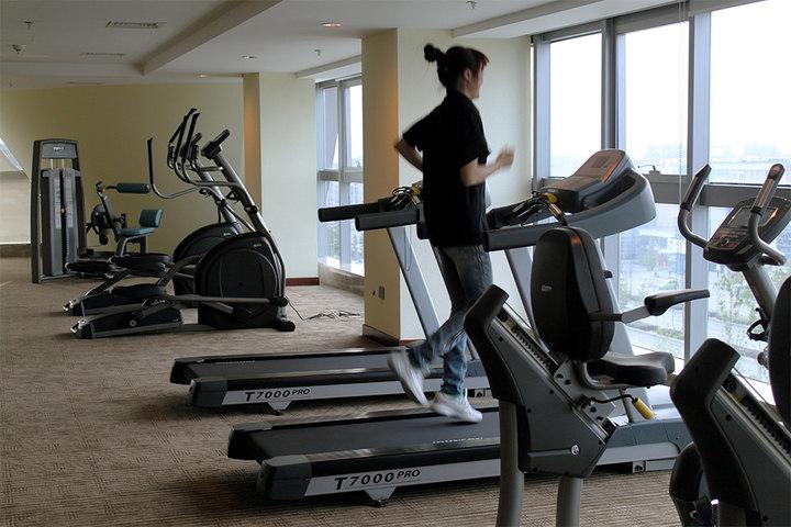 健身 健身房 运动器械