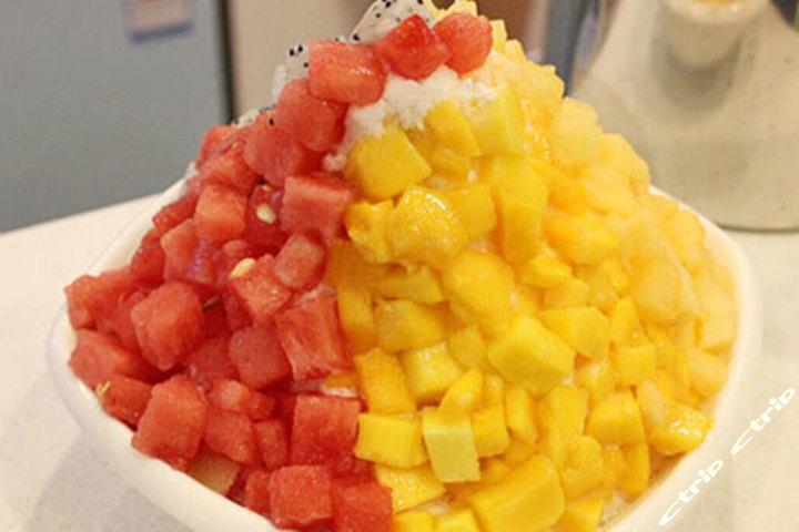 水果捞超级牛奶绵绵冰