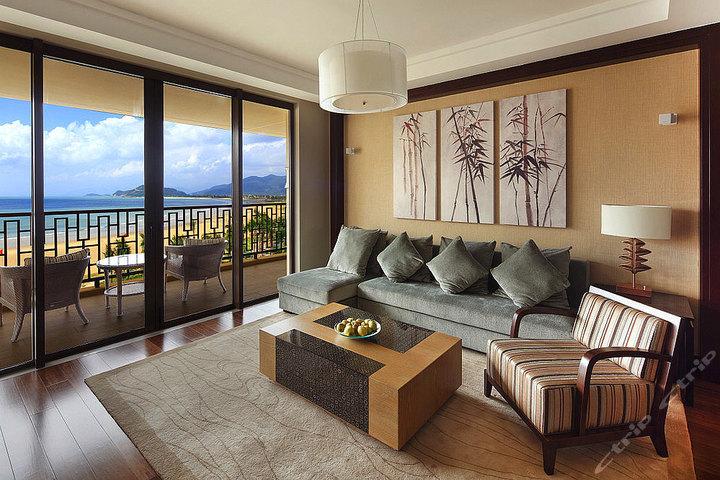 万宁神州半岛喜来登度假酒店-海洋套房