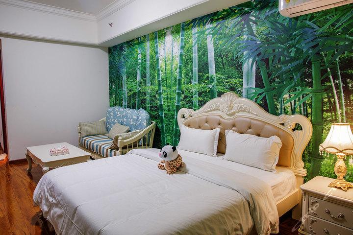 广州长隆快乐时光儿童主题酒店式公寓-熊猫大床房
