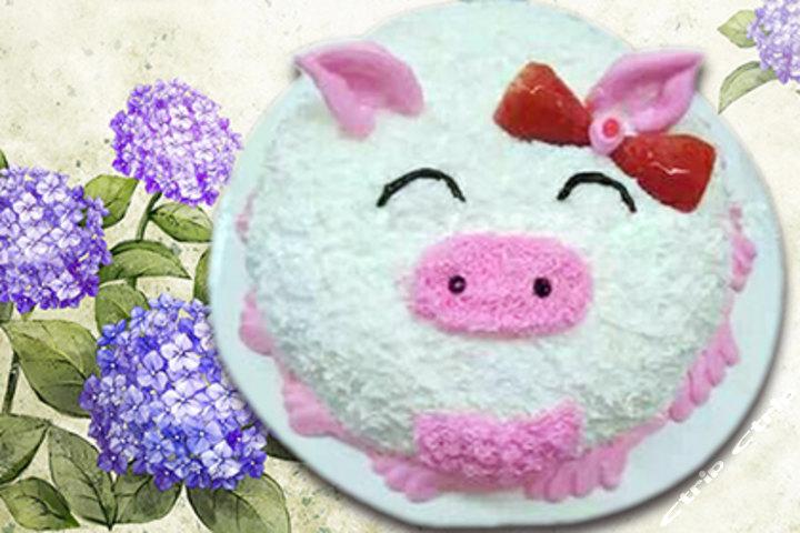 简单写字蛋糕图片-好看的蛋糕图片-抖音恶搞生日蛋糕