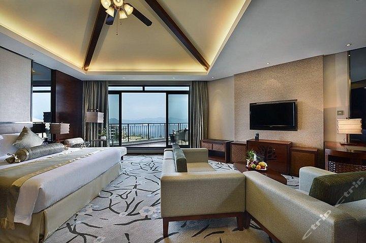 千岛湖润和建国度假酒店-行政湖景大床房[双早]