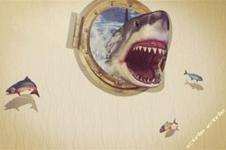 泉水瓶手工制作鲨鱼