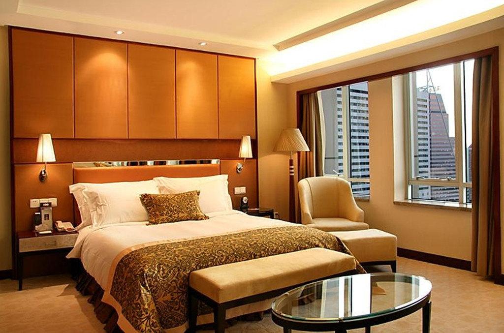 背景墙 房间 家居 酒店 设计 卧室 卧室装修 现代 装修 1024_677