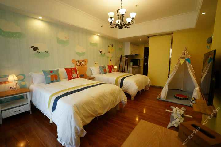广州长隆奇幻旅馆主题式酒店公寓-动物王国双床野营