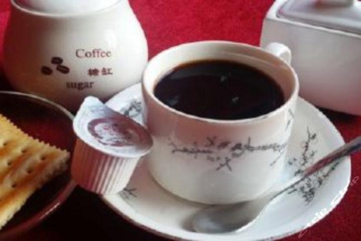 文艺咖啡手绘高清壁纸