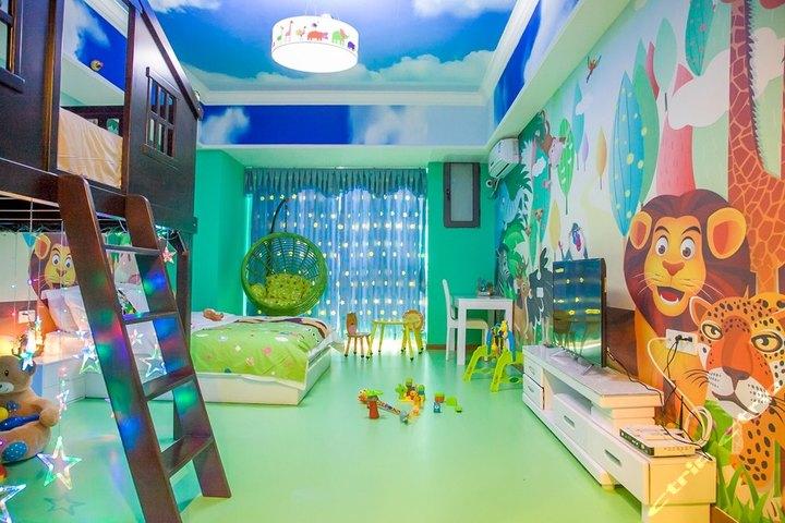 广州长隆8天儿童主题酒店公寓-森林小木屋亲子双床房