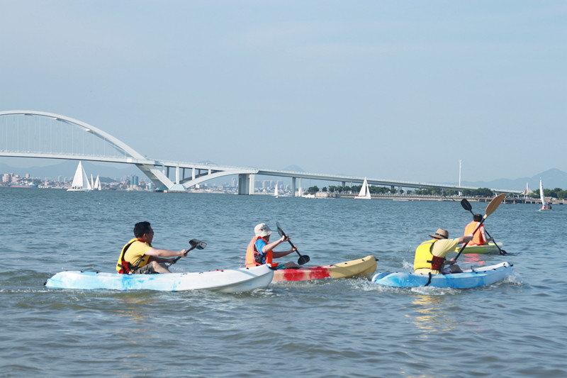 厦门风和水帆船酒店4-6人餐 独木舟体验